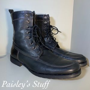 Aston Grey Collection Leather Boots